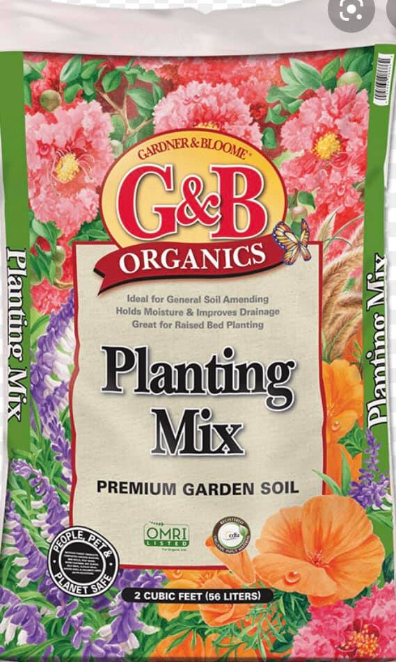 Potting Soil and Garden